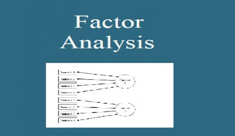 تحلیل عاملی با استفاده از نرم افزار Minitab