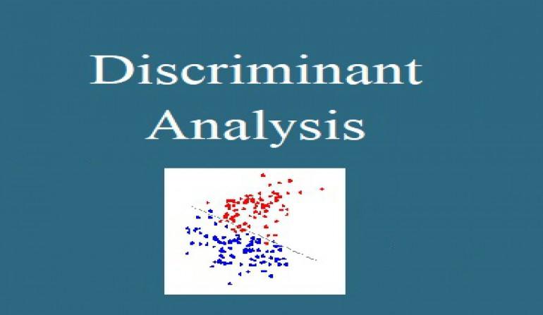 تحلیل ممیزی (Discriminant Analysis) با استفاده از نرم افزار Minitab